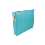 We R Memory Keepers - Classic Leather - 6 x 6 - Two Ring Albums - Aqua