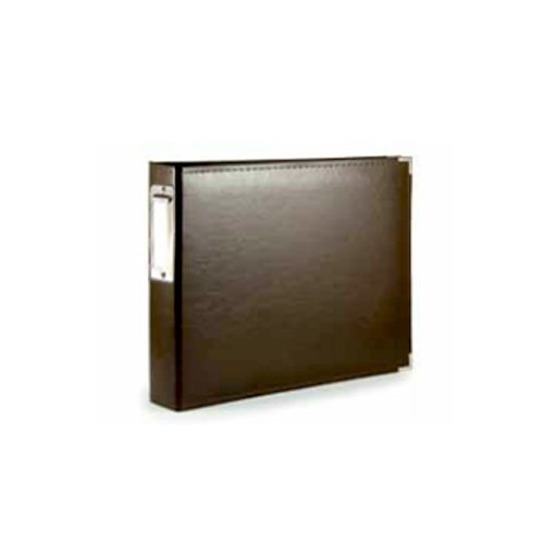 We R Memory Keepers - Albums Made Easy - Classic Leather - 4 x 6 - Two Ring Albums - Brown