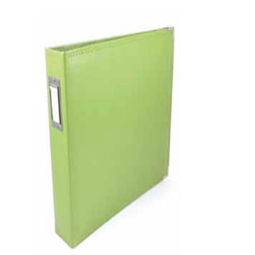 We R Memory Keepers - Albums Made Easy - Classic Leather - 6 x 12 - Three Ring Albums - Kiwi
