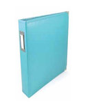 We R Memory Keepers - Albums Made Easy - Classic Leather - 6 x 12 - Three Ring Albums - Aqua
