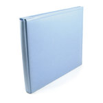 We R Memory Keepers - Classic Leather - 12x12 - Post Bound Albums - Baby Blue