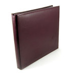 We R Memory Keepers - Classic Leather - 12x12 - Post Bound Albums - Burgundy