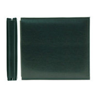 We R Memory Keepers - Classic Leather - 8x8 - Post Bound Albums - Forest Green