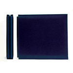 We R Memory Keepers - Classic Leather - 8x8 - Post Bound Albums - Navy