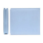 We R Memory Keepers - Classic Leather - 6x6 - Post Bound Albums - Baby Blue, CLEARANCE