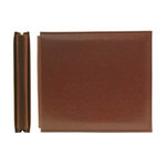 We R Memory Keepers - Classic Leather - 6x6 - Post Bound Albums - Nutmeg