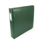 We R Memory Keepers - Classic Leather - 12x12 - Three Ring Albums - Forest Green