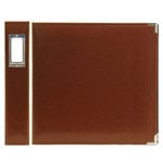 We R Memory Keepers - Classic Leather - 12x12 - Three Ring Albums - Nutmeg