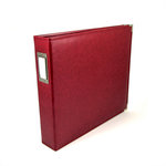 We R Memory Keepers - Classic Leather - 12x12 - Three Ring Albums - Wine