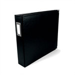 We R Memory Keepers - Classic Leather - 8.5x11 - Three Ring Albums - Black