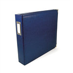 We R Memory Keepers - Classic Leather - 8.5x11 - Three Ring Albums - Cobalt