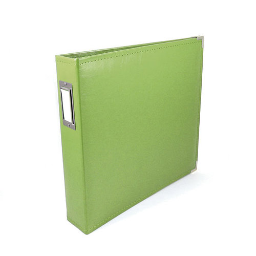 We R Memory Keepers - Classic Leather - 8.5x11 - Three Ring Albums - Kiwi