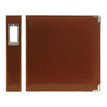 We R Memory Keepers - Classic Leather - 8.5x11 - Three Ring Albums - Nutmeg