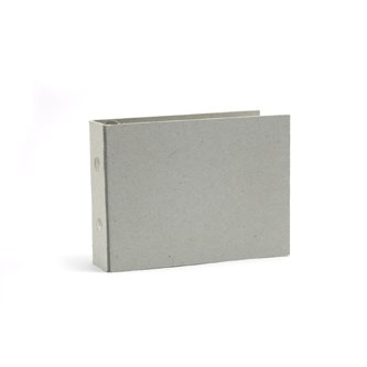 We R Memory Keepers - Raw Goods Collection - 3x3 Mini Album Ring - with 10 page protectors