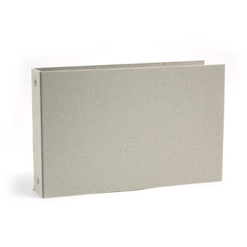 We R Memory Keepers - Raw Goods Collection - 5x7 Mini Album Ring - with 10 page protectors