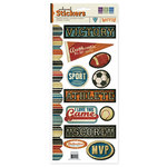 We R Memory Keepers - MVP Collection - Embossed Cardstock Stickers - MVP