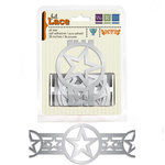 We R Memory Keepers - MVP Collection - Self Adhesive Foil Lace - All Star, CLEARANCE