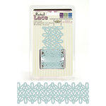 We R Memory Keepers - Madame Royale Collection - Self Adhesive Flocked Lace - Swirl, CLEARANCE