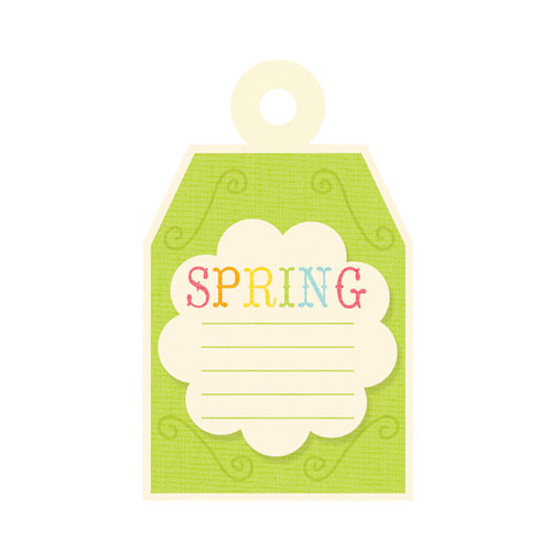 We R Memory Keepers - Hippity Hoppity Collection - Easter - Embossed Tags - Spring, BRAND NEW