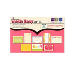 We R Memory Keepers - Hippity Hoppity Collection - Easter - 4 x 6 Albums Made Easy Pad, CLEARANCE