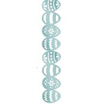 We R Memory Keepers - Hippity Hoppity Collection - Easter - Self Adhesive Glitter Lace - Eggcellent, CLEARANCE
