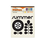 We R Memory Keepers - 72 and Sunny Collection - Clear Acrylic Stamps - Summer