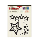 We R Memory Keepers - Old Glory Collection - Clear Acrylic Stamps - Star Spangled