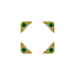 We R Memory Keepers - Crop-A-Dile III Main Squeeze - Corners - Gem Gold Emerald