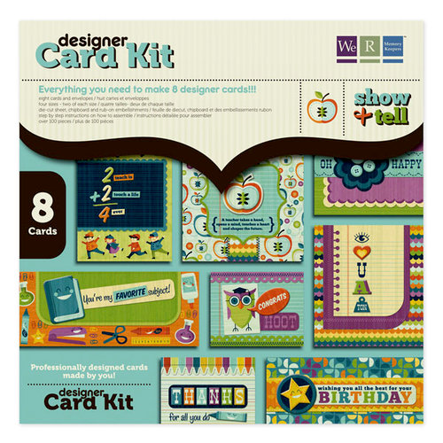 We R Memory Keepers - Show and Tell Collection - Designer Card Kit