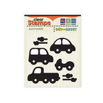 We R Memory Keepers - Out and About Collection - Clear Acrylic Stamps - Automobile