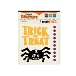 We R Memory Keepers - Heebie Jeebies Collection - Halloween - Clear Acrylic Stamps - Spider