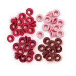 We R Memory Keepers - Eyelets - Standard - Red