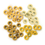 We R Memory Keepers - Eyelets - Standard - Yellow