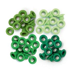 We R Memory Keepers - Eyelets - Standard - Green