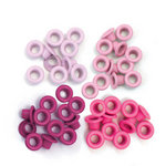 We R Memory Keepers - Eyelets - Standard - Pink