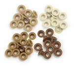 We R Memory Keepers - Eyelets - Standard - Brown
