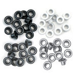 We R Memory Keepers - Eyelets - Standard - Grey