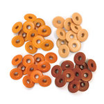 We R Memory Keepers - Eyelets - Wide - Orange