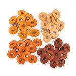 We R Memory Keepers - Eyelets - Wide - Orange
