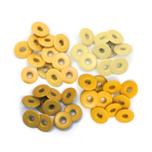 We R Memory Keepers - Eyelets - Wide - Yellow