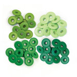 We R Memory Keepers - Eyelets - Wide - Green