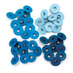 We R Memory Keepers - Eyelets - Wide - Blue