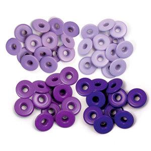 We R Memory Keepers - Eyelets - Wide - Purple
