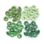 We R Memory Keepers - Eyelets - Standard - Glitter - Green