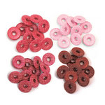 We R Memory Keepers - Eyelets - Wide - Glitter - Red