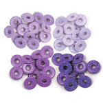 We R Memory Keepers - Eyelets - Wide - Glitter - Purple