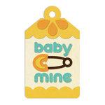 We R Memory Keepers - Embossed Tags - Baby Mine