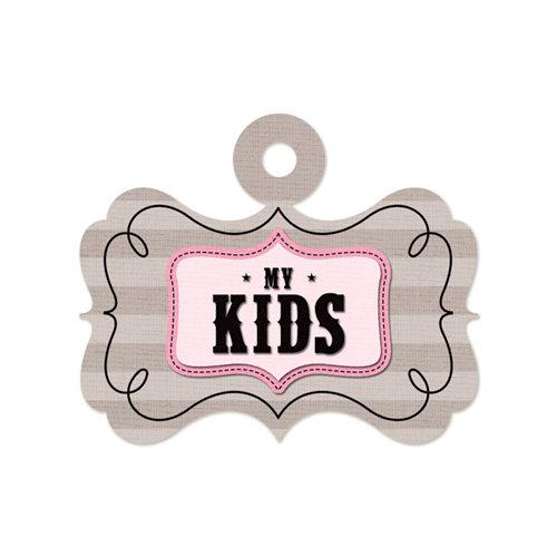 We R Memory Keepers - Embossed Tags - My Kids