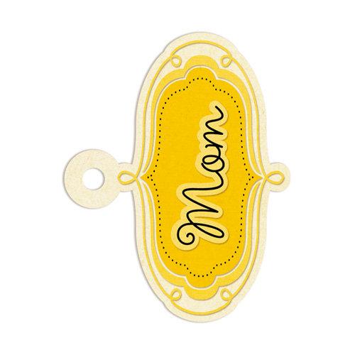 We R Memory Keepers - Embossed Tags - Mom