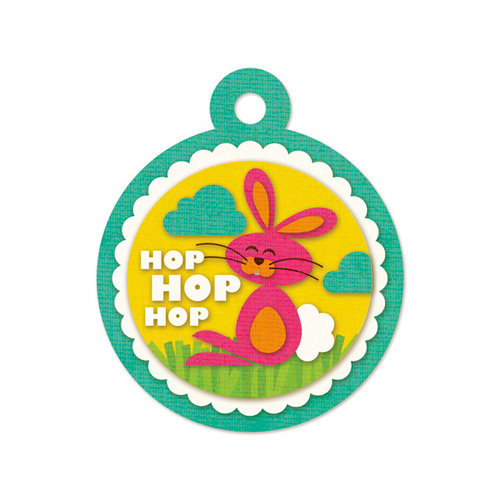 We R Memory Keepers - Embossed Tags - Hop Hop Hop